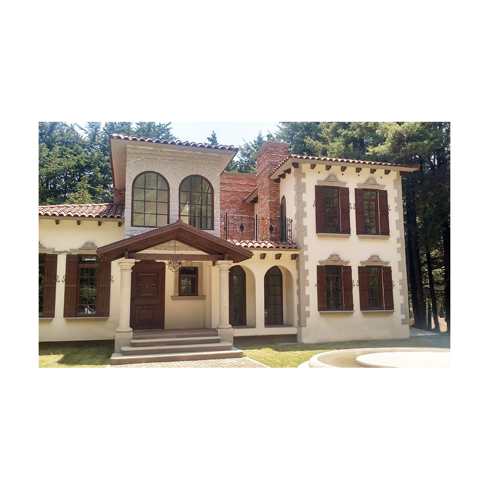 Casa con diferentes detalles de cantera canteras lerma - Detalles para la casa ...