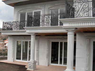 Fachadas molduras y cornisas portfolio categories - Molduras para ventanas exteriores casas ...